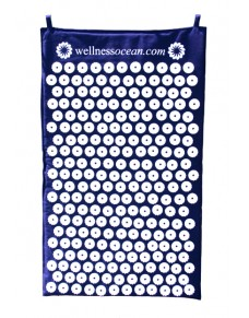Wellnessocean Acupressure Mat Blue