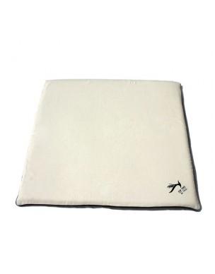 Top Yogi Zabuton Meditation Cushion Beige