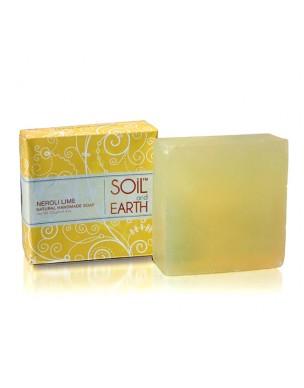 Soil & Earth Neroli Lime Handmade Soap 125g
