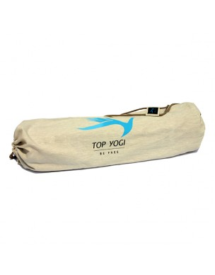 Topyogi Yoga Mat  Cotton Bag Beige