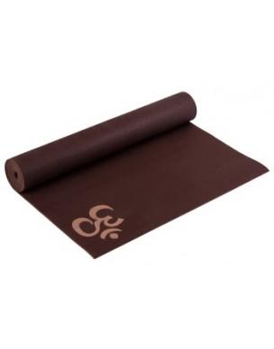 Yogimat Basic Om Choco Brown 4mm