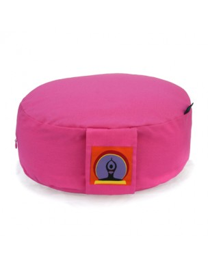 Top Yogi Round Meditation Cushion, Pink