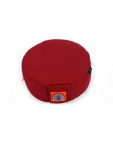 Top Yogi Round Meditation Cushion, Red