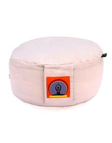 Top Yogi Round Meditation Cushion,Light Violet