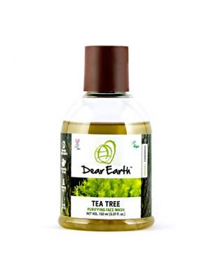 Dear Earth Tea Tree Purifying Face Wash 150ml