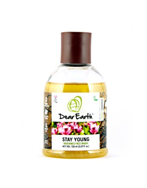 Dear Earth Stay Young Radiance Face Wash 150ml