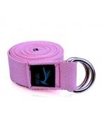 Top Yogi Yoga Belt/Strap Rose 240cm x 4cm