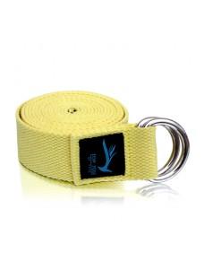 Top Yogi Yoga Belt/Strap Vanilla 260cm x 4cm