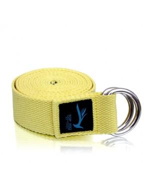 Top Yogi Yoga Belt/Strap Vanilla 254cm x 4cm
