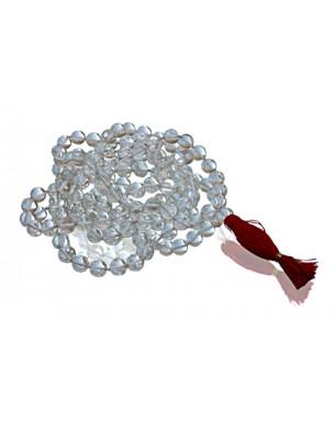 Quartz Crystal Mala 108 beads