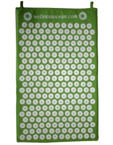 Wellnessocean Acupressure Mat Green