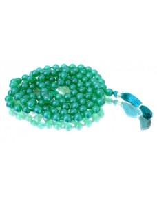 Green Jade Mala 108 Beads
