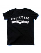 "Yoga T-Shirt ""Levitate"" Black, for Men"