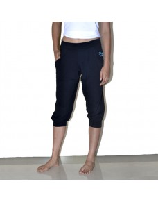 Yoga Pants, Capris with Cuffs, for Women
