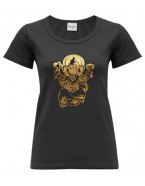 Yoga T Shirt Ganesha Black