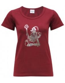 Yoga T Shirt Shiva Tapas Red
