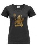 Yoga T Shirt Shiva Black