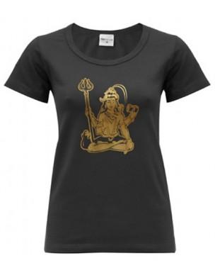 Yoga T Shirt Shiva Black