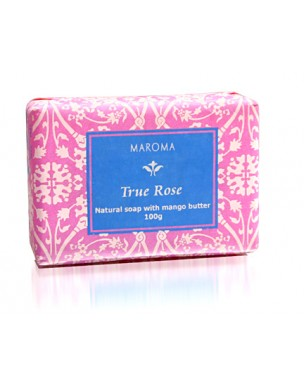 Maroma True Line Soap Rose 100g