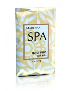 Maroma Spa Bath Salt Quiet Mind 60g