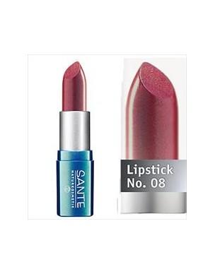 Sante Organic Lipstick Deep Red 08