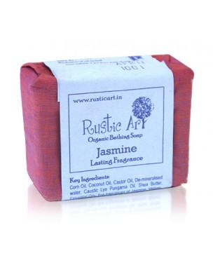 Rustic Art Organic Jasmine Soap 100g