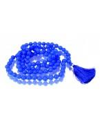 Navy Blue Jade Mala 108 Beads